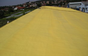 izolace ploché střechy polyuretanovou pěnou