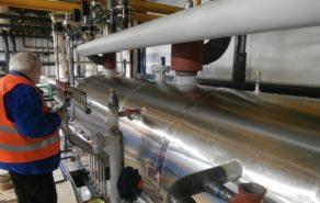 polyuretanová izolace potrubí