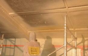 nástřik pur izolace na strop