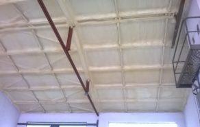 tepelná izolace stropu pur pěnou