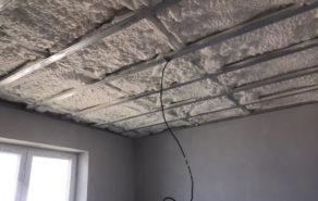 Izolace stropu rodinného domu - Baliny, Velké Meziřící - reference