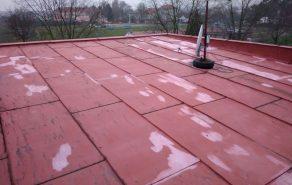 Izolace ploché střechy rodinného domu - Babice