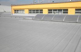 Dokončená izolace střechy